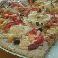 Házi margherita pizza