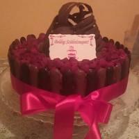 Csokoládédísz készítés - hálós alagút