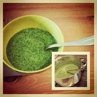 Spenótfőzelék recept tükörtojással (Parajfőzelék)