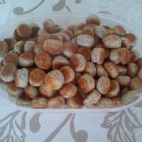 Mákos apró pogácsa