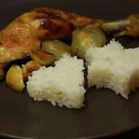 Főtt rizs / párolt rizs köret