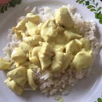 Egyszerű korma currys csirke