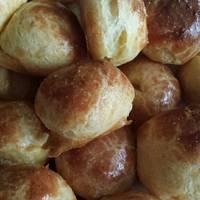 Sajtfánk, sajtos pufi
