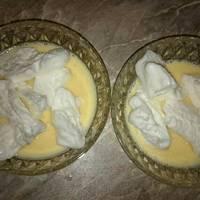 Madártej recept II