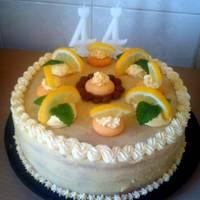 Tejszínes citromtorta