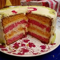 Szivárvány torta