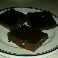 3 hozzávalós banános brownie