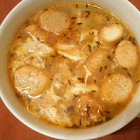 Köményes rántott leves