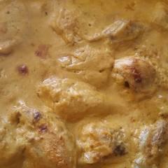 Fotós komment ehhez: Tejfölben sült csirkecomb (bbq változatban)
