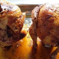 Sörösüvegen sült csirke
