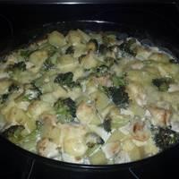 Brokkolis-mascarponés csirke