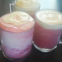 Joghurtos-tejszínes málnaleves