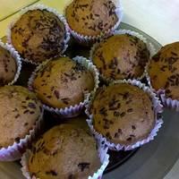 Diós muffin