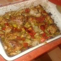Különleges sütőben sült csirkecombok
