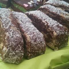 Fotós komment ehhez: Cappucino krémes keksztekercs