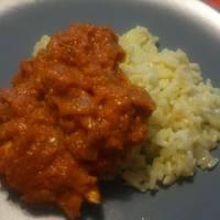 Sütőtök curry recept illatos rizzsel