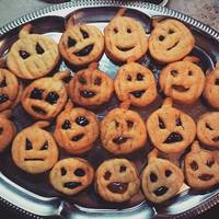 Halloween linzer