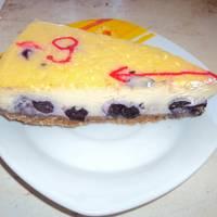 Áfonyás sajttorta recept (Blueberry Cheesecake)