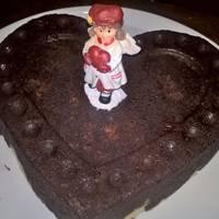Kókuszos brownie torta