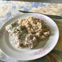 Kapros joghurtos csirkemell recept hagymás törtburgonyával