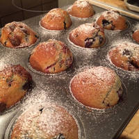 Csokis-meggyes muffin