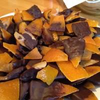 Kandírozott narancshéj
