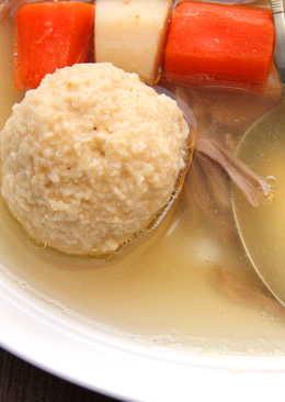 Libaleves recept maceszgombóccal