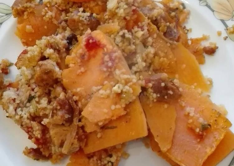 Vega édesburgonya lasagne
