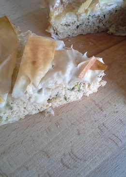 Cukkinis-húsos pite