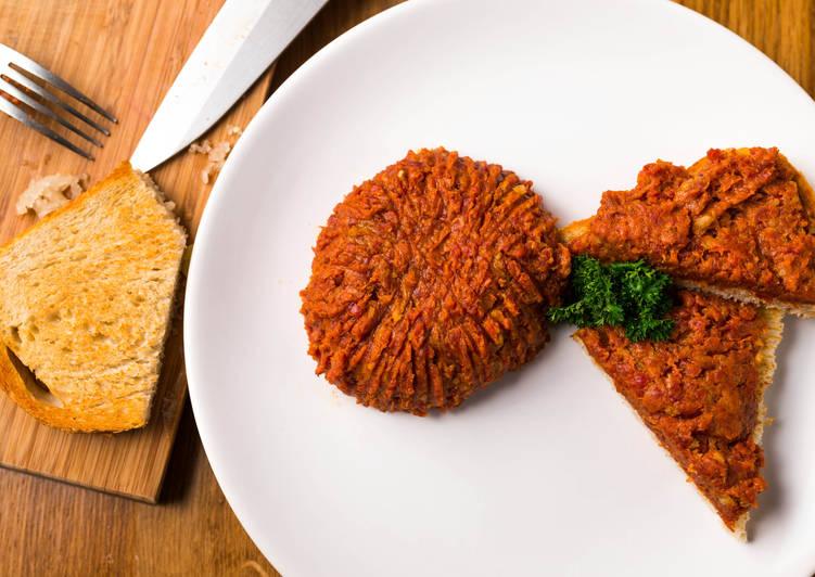Tatár beefsteak (tatárbifsztek)