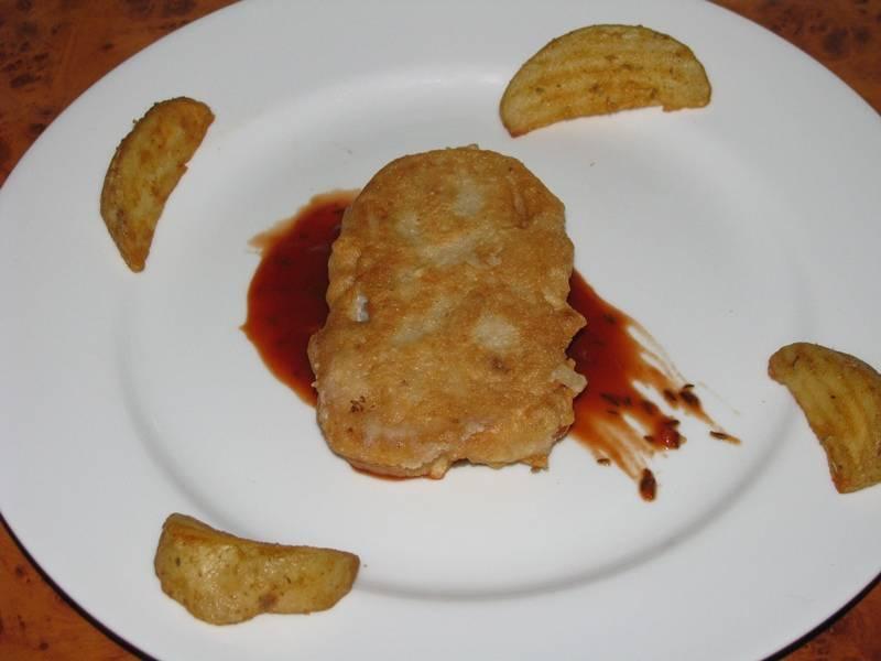 Hal diós sörbundában, paradicsommártással recept főfotó