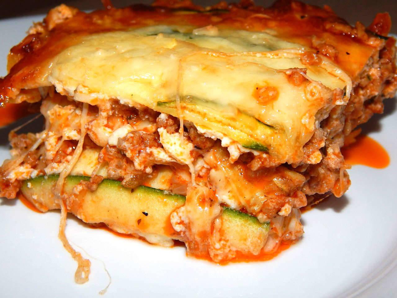Low carb lasagne recept főfotó