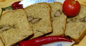 Májjal töltött fokhagymás kenyér főfotó