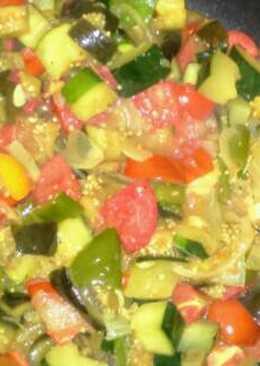 Ázsiai fűszerezésű párolt zöldség