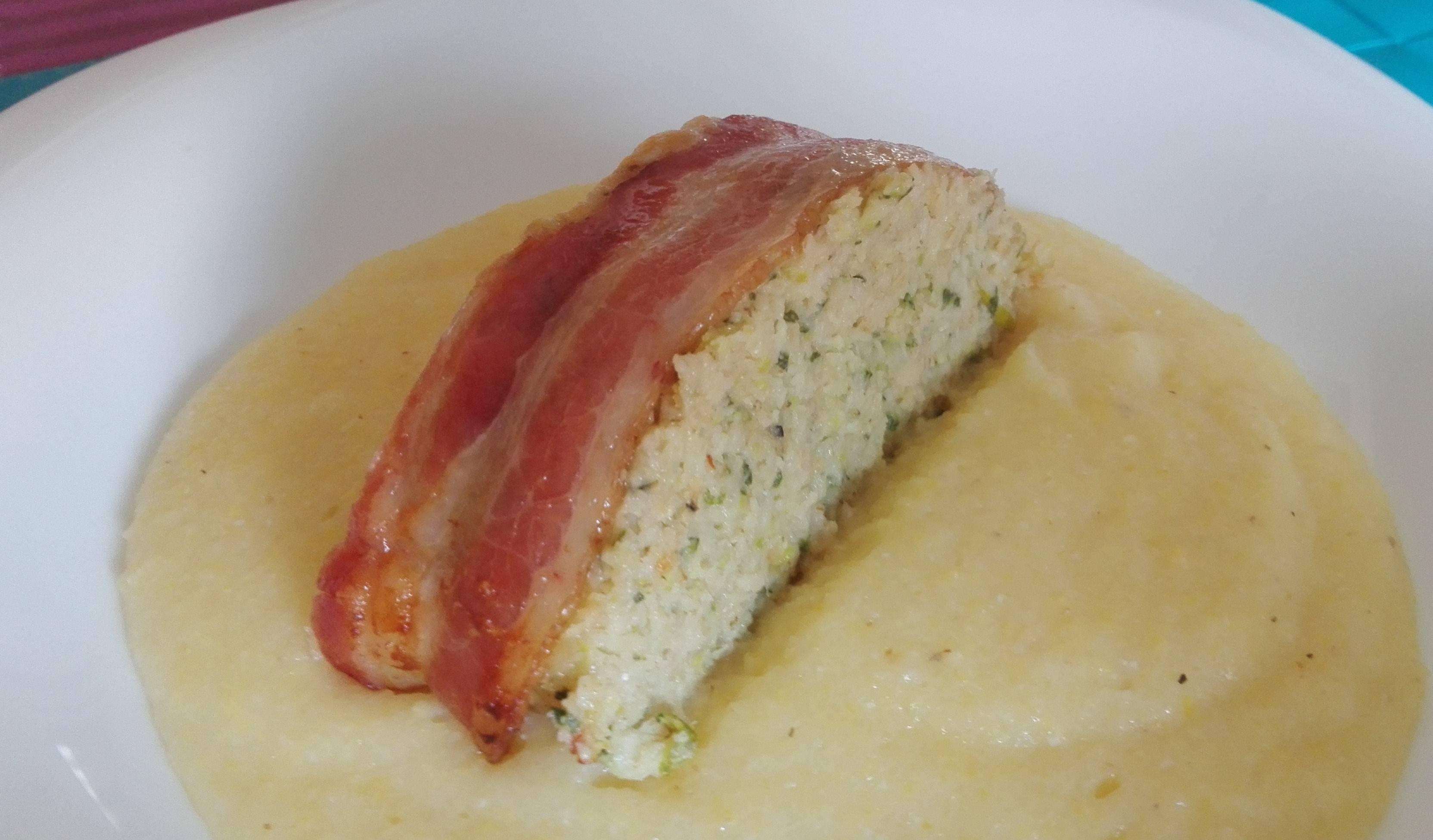 Parmezános tökfasírt polentával recept főfotó