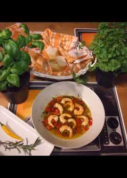 Pepperonis garnéla