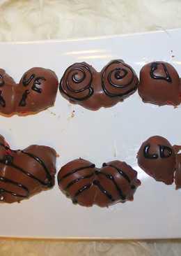Csokis eper szívek 💕