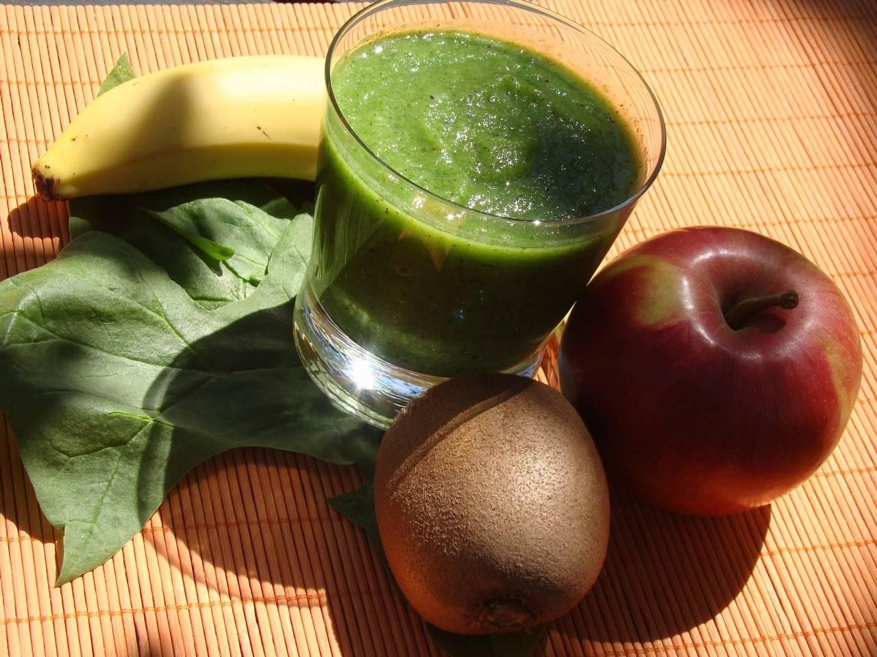 Zöld turmix recept (smoothie) főfotó