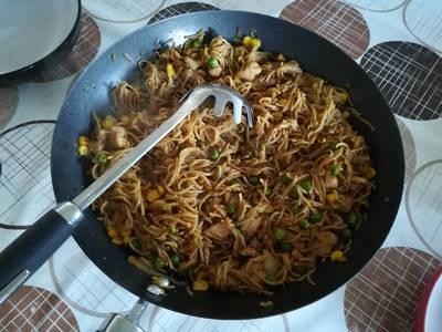 Kínai pirított tészta