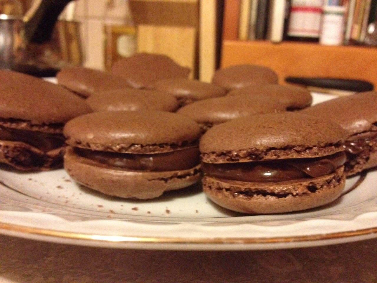 Francia csokoládés macaron főfotó