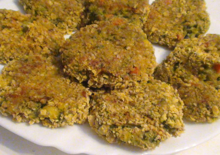 Brokkoli fasírt recept sütőben sütve