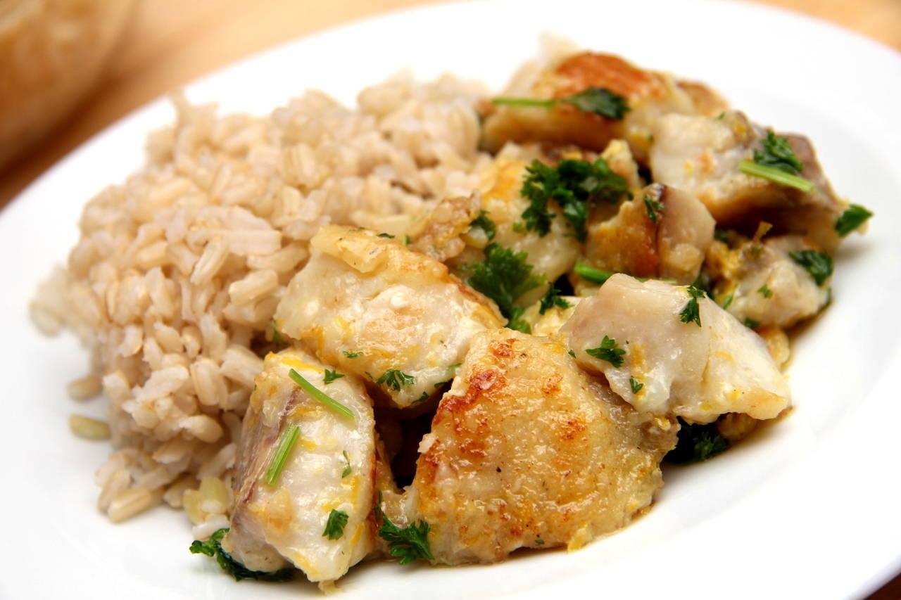 Citromos-vajas sült hal recept főfotó