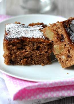 Szilvalekváros-marcipános sütemény