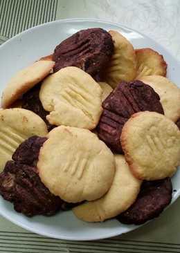 Igazi vaníliás és csokis keksz