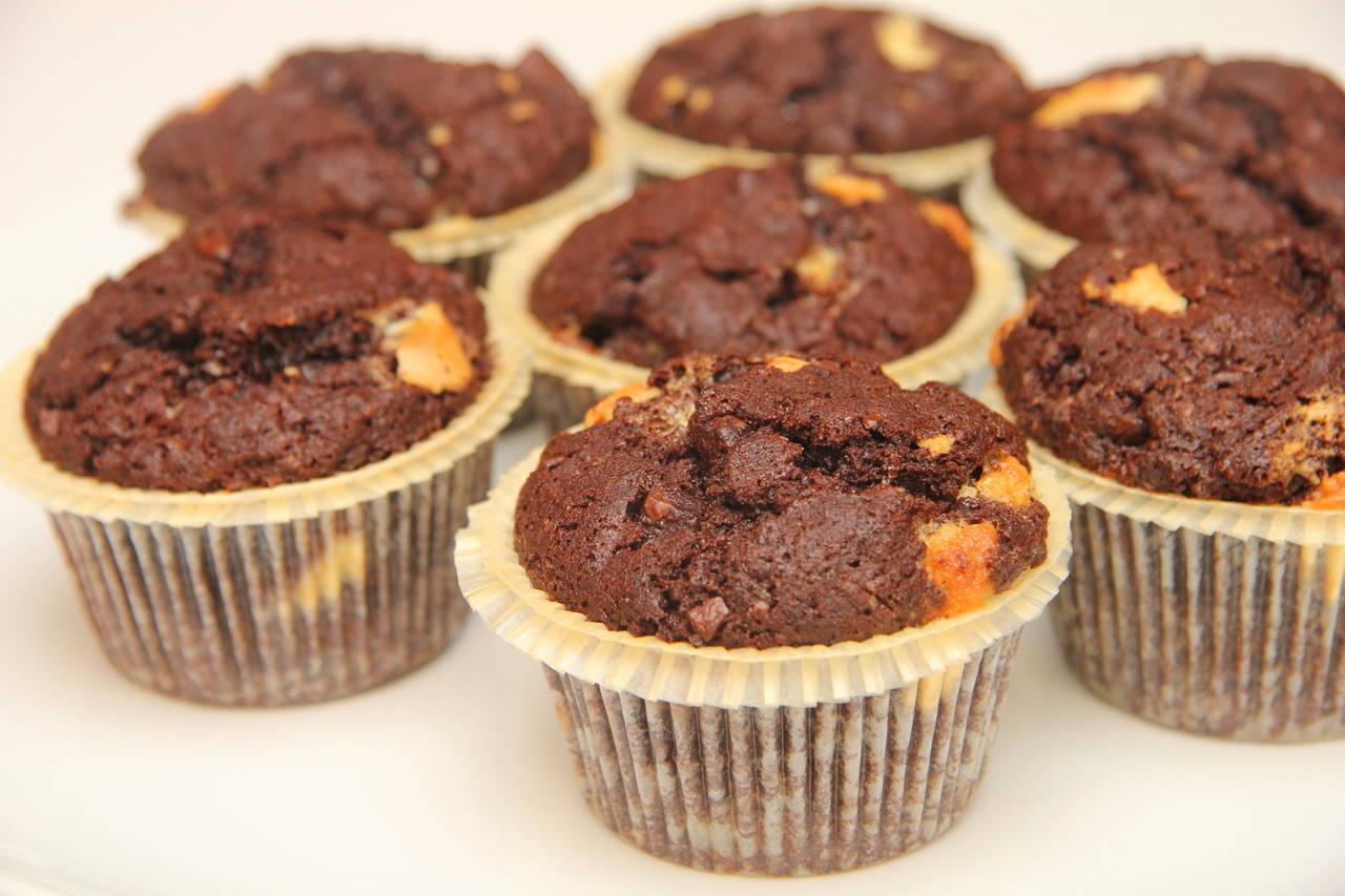 Csokis muffin recept főfotó
