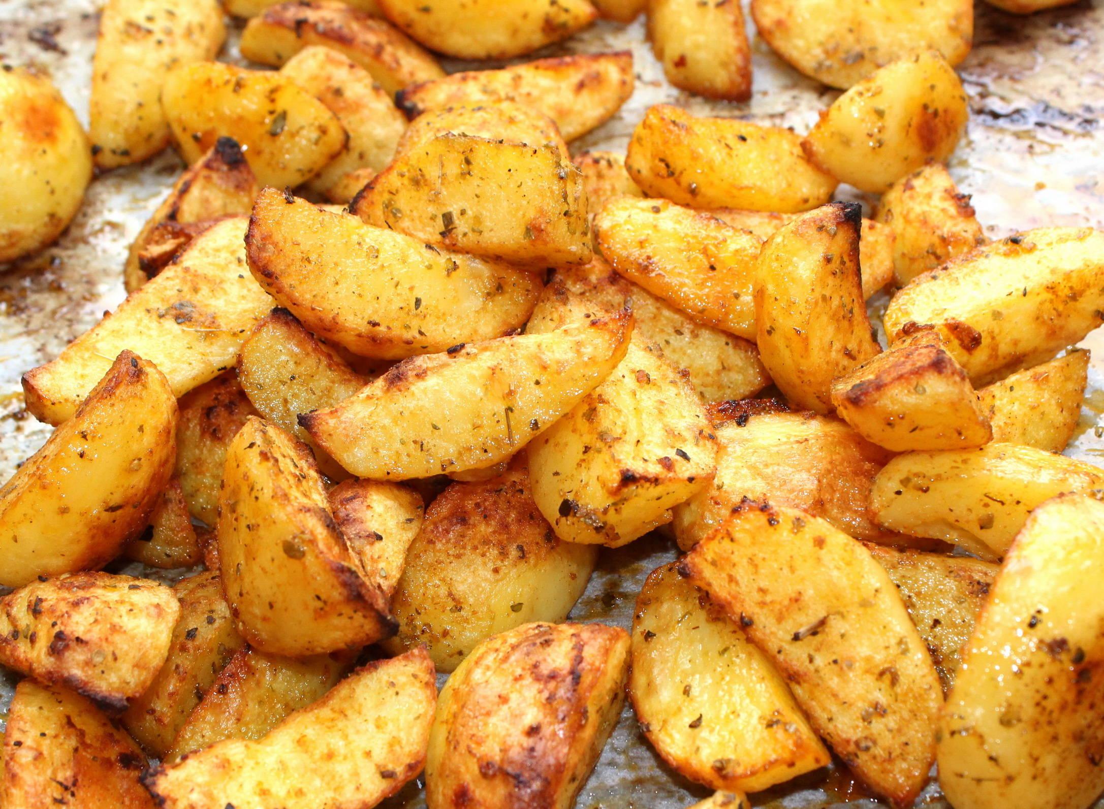 Fűszeres sült krumpli recept főfotó