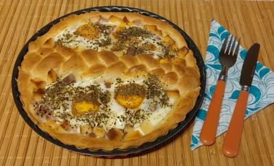 Gyors tojásos pite