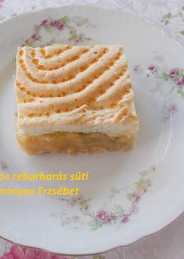 Habos rebarbarás süti