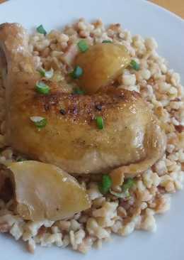 Serpenyős csirke