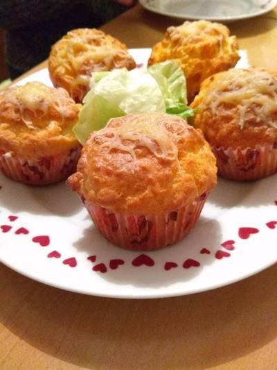 Sajtós muffin